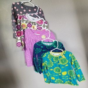Other - 5 long sleeve girls tops (4T)